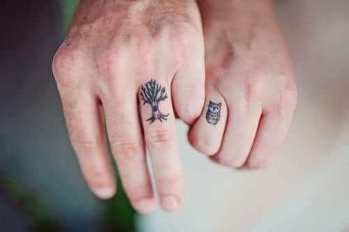 Tatuajes dicretas, tatuajes parejas