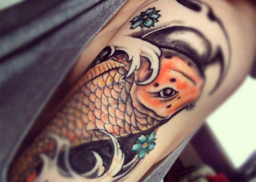 Pez Koi Un Tatuaje Con Significado Y Leyenda Sabes Cuál Es