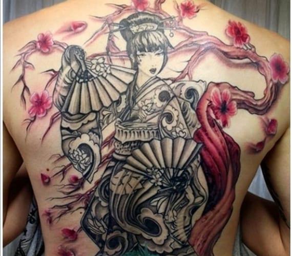 Tatuajes geisha - Tattoos geishas japonesas ...