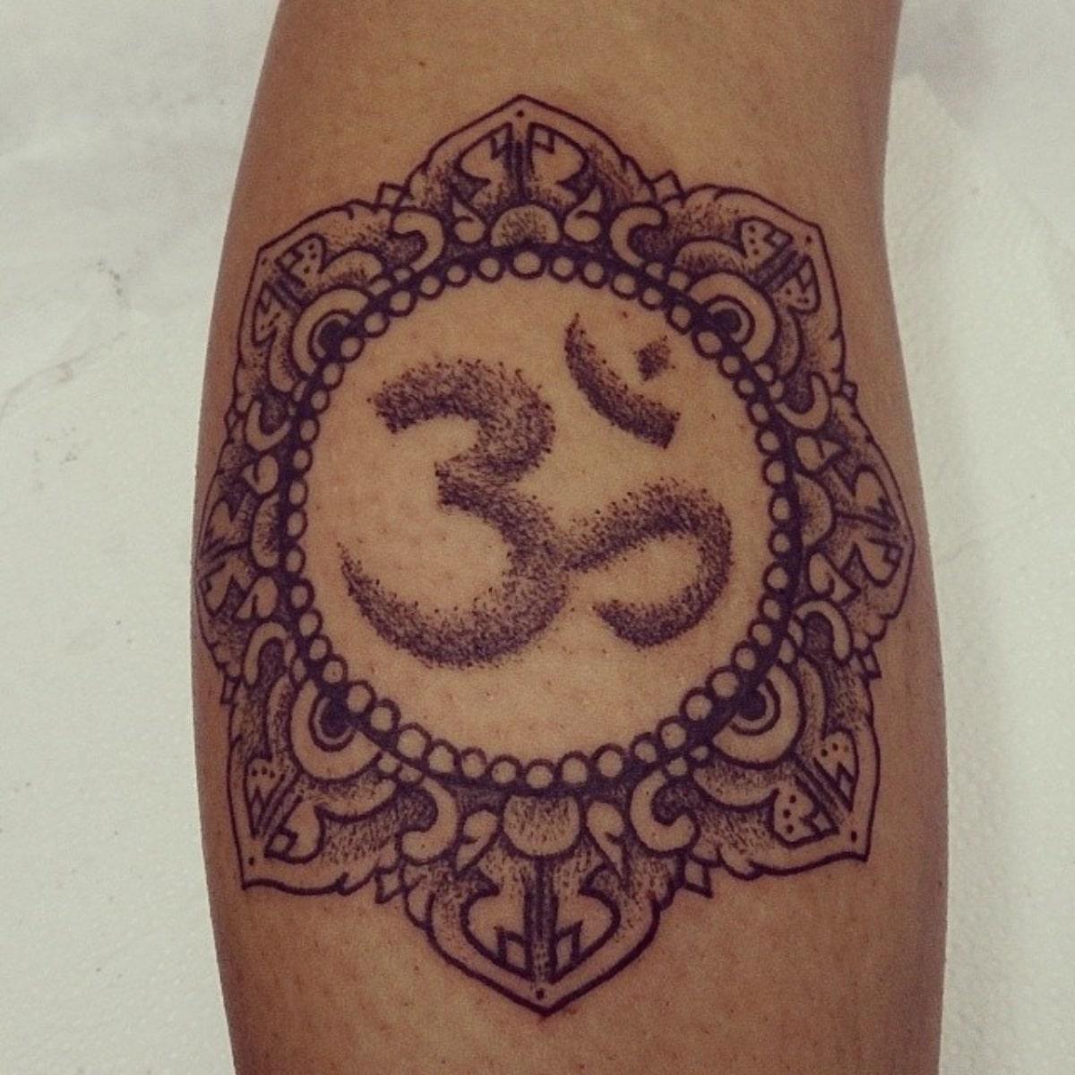El símbolo Om es símbolo de plenitud