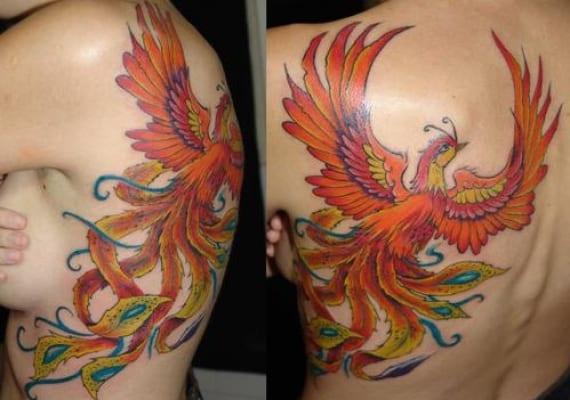 Ave Fénix Un Tatuaje Que Nos Da Fuerza