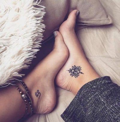 EN lugares pequeños estos tatuajes resaltan más