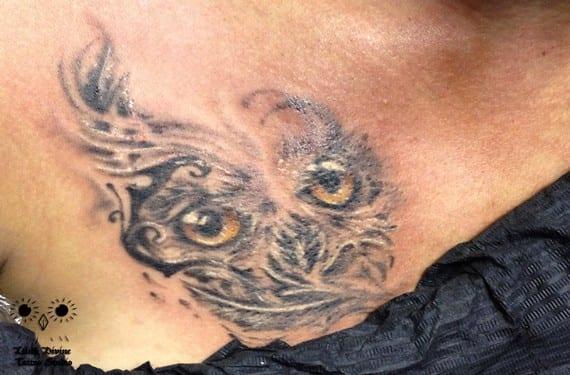 Como tatuaje admite muchos estilos