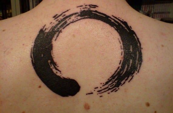 Tatuaje de un ensō