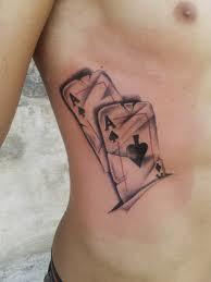Tatuaje Cartas De Poker