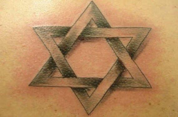 La estrella de David simboliza el sionismo