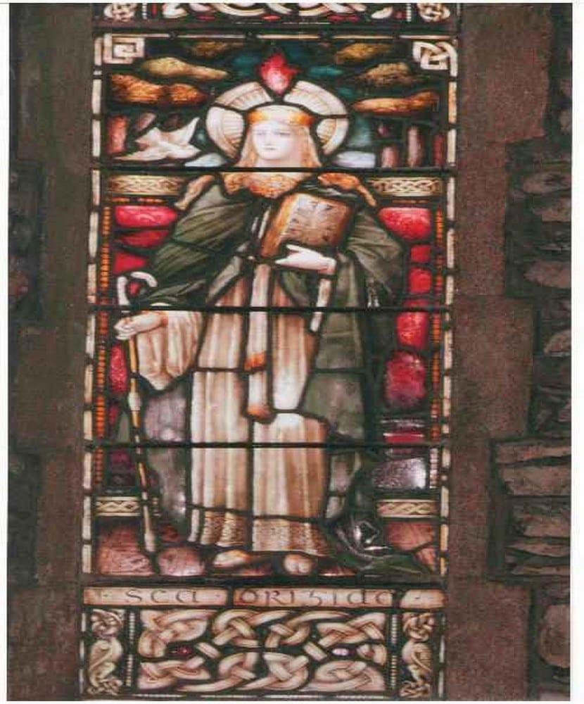 En la catedral de Kildare aparecene numerosos nudos celtas, Dara entre ellos