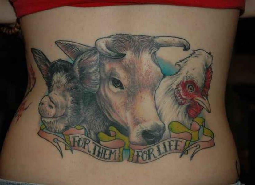 ¿Respetas a los animales? Hazte un tatuaje totalmente vegano