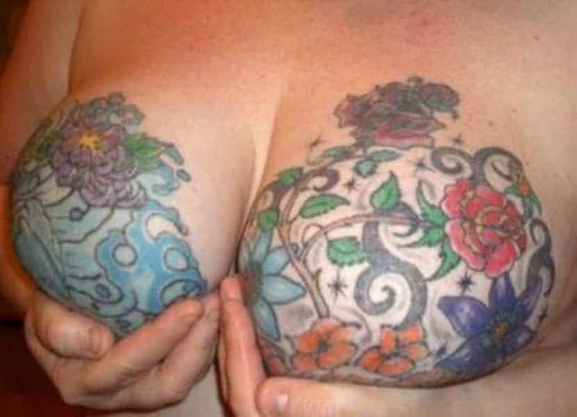Yo no me tatuaría el pezón, de todos modos