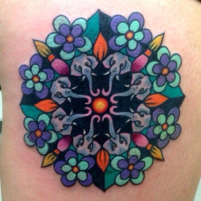 Tatuajes Y Cromoterapia Ii