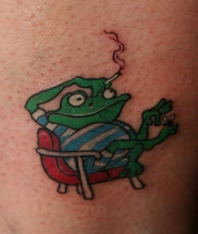 Un puntazo de tatuaje