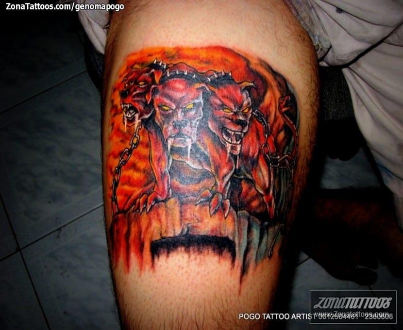 Tatuaje de Can Cerbero