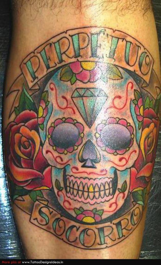 Tatuarse Calaveras Mexicanas