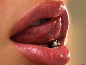 Un piercing en la lengua puede quedar perfecto