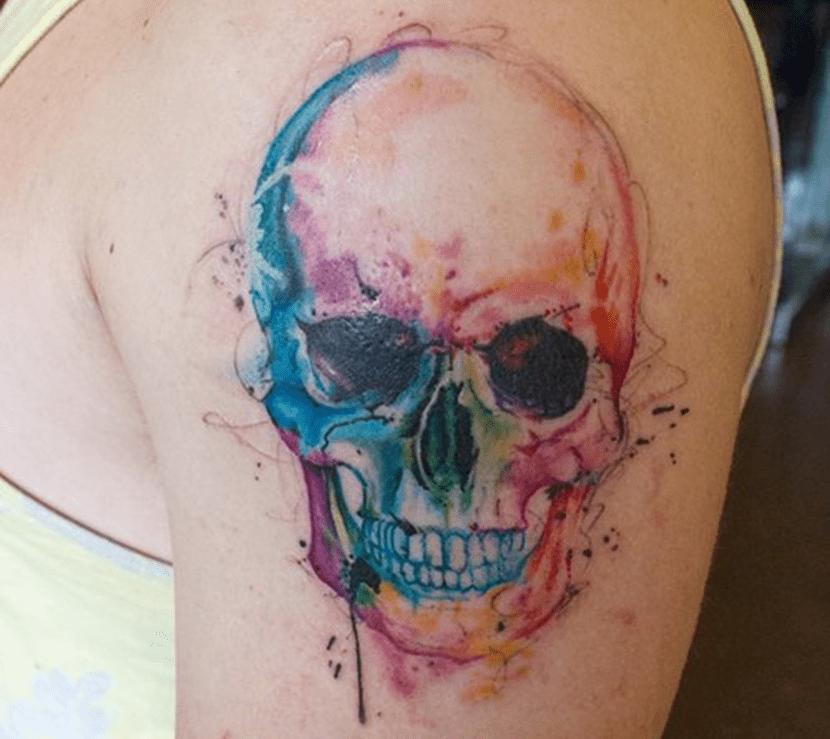 Tatuajes de calaveras 15 dise os muy dispares - Tattoo disenos a color ...