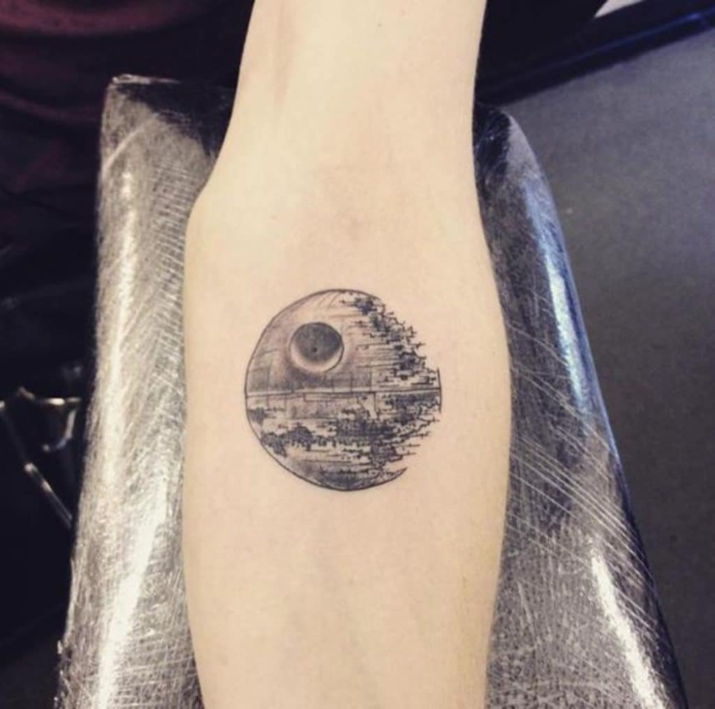 Tatuaje de Star Wars
