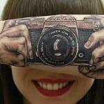 Tatuajes de Cámaras de Fotos