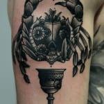 Tatuajes de Cangrejos