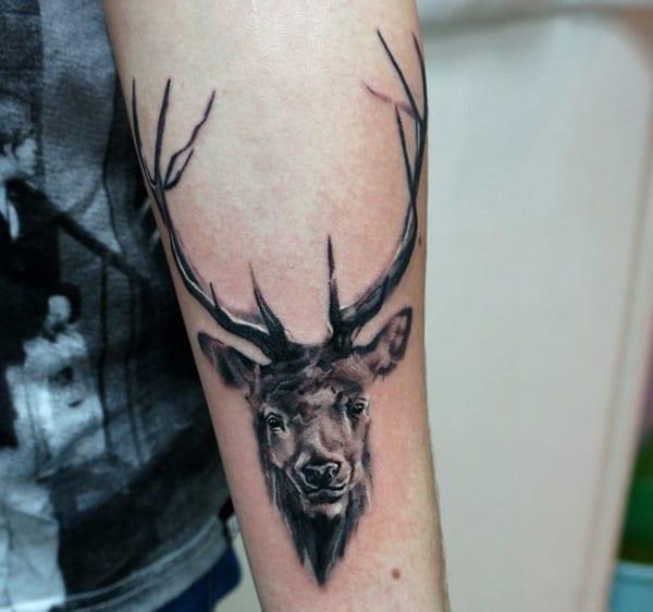 Tatuajes De Ciervos 25 Diseños Que Deberías Ver