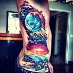 Tatuajes de Espacio