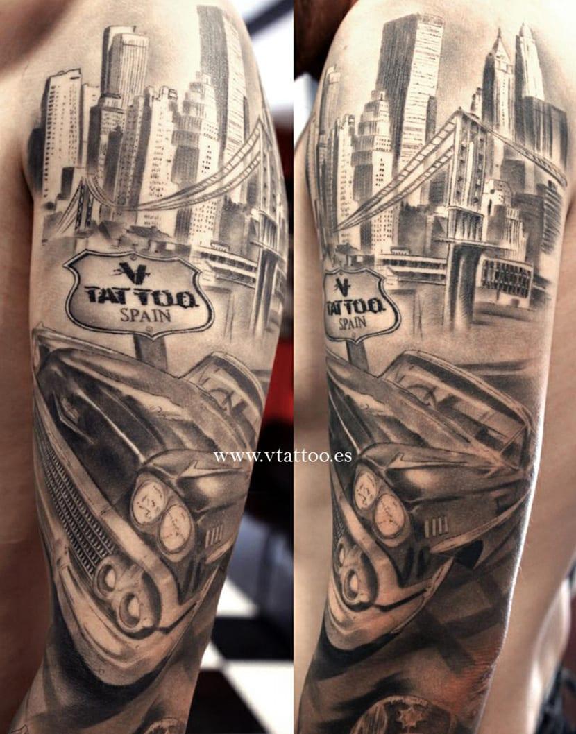 Tatuajes De Ciudades Nueva York