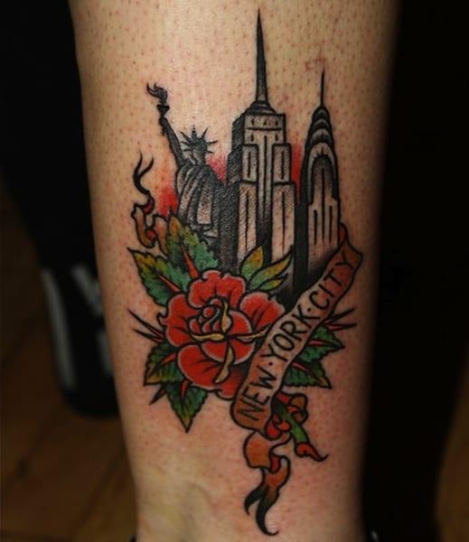 Tattoo Ideas New York: Tatuajes De Ciudades: Nueva York