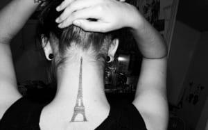 Tatuajes de Ciudades - París