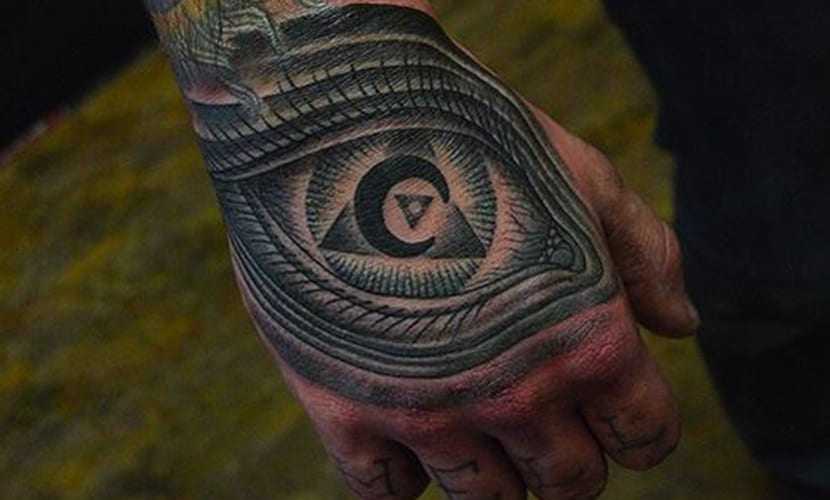Tatuajes Illuminati El Ojo Que Todo Lo Ve