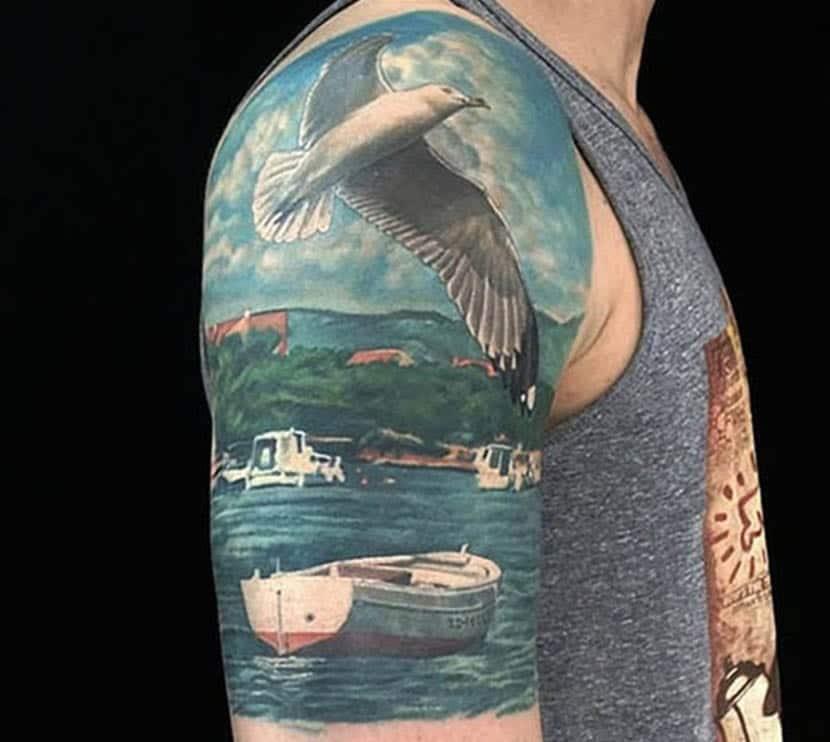 Paisajes Tatuajes