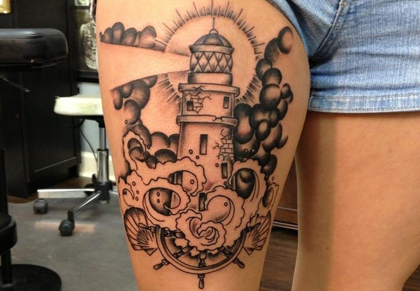 Tatuajes De Faros Ilumina Tu Vida Con Estos Tattoos