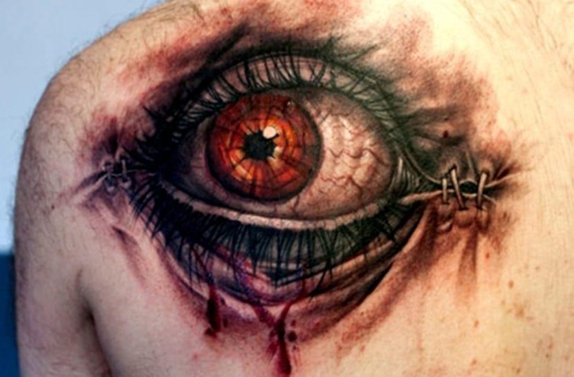 Tatuajes De Ojos Hiperrealismo En La Piel