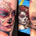 Tatuajes de la Santa Muerte