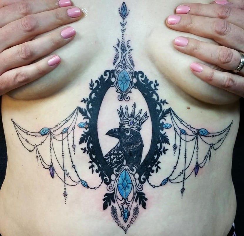 Tatuajes Sexy Para Debajo De Los Senos Que Significan Duele