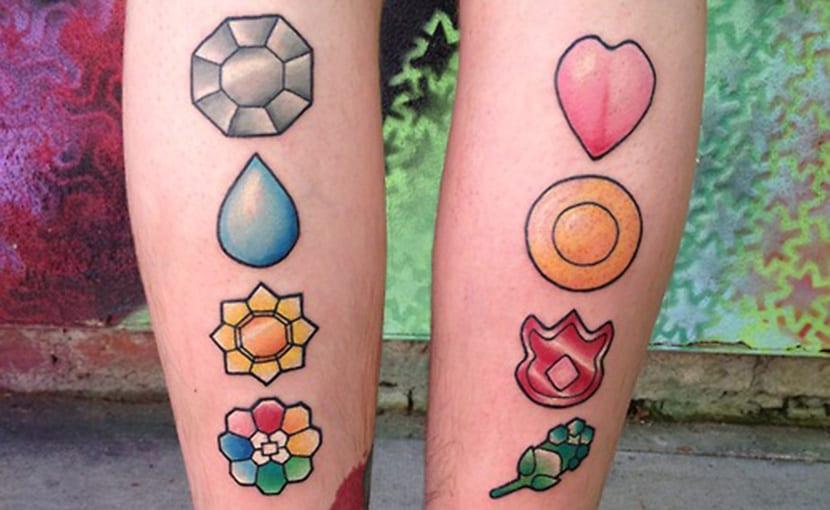 Tatuaje anime Pokémon