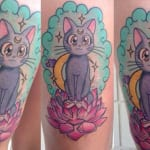 Tatuaje anime Sailor Moon