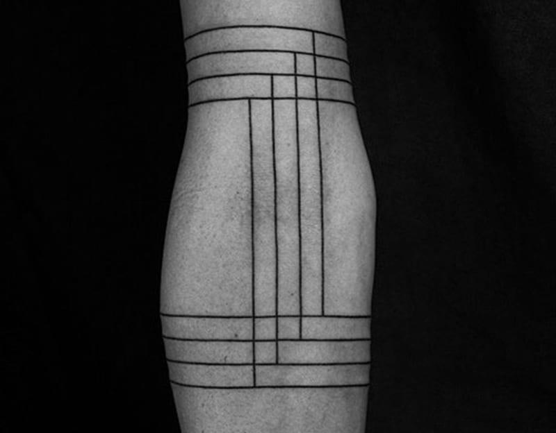 Tatuajes De Líneas En El Brazo Ideas Significado Y Más