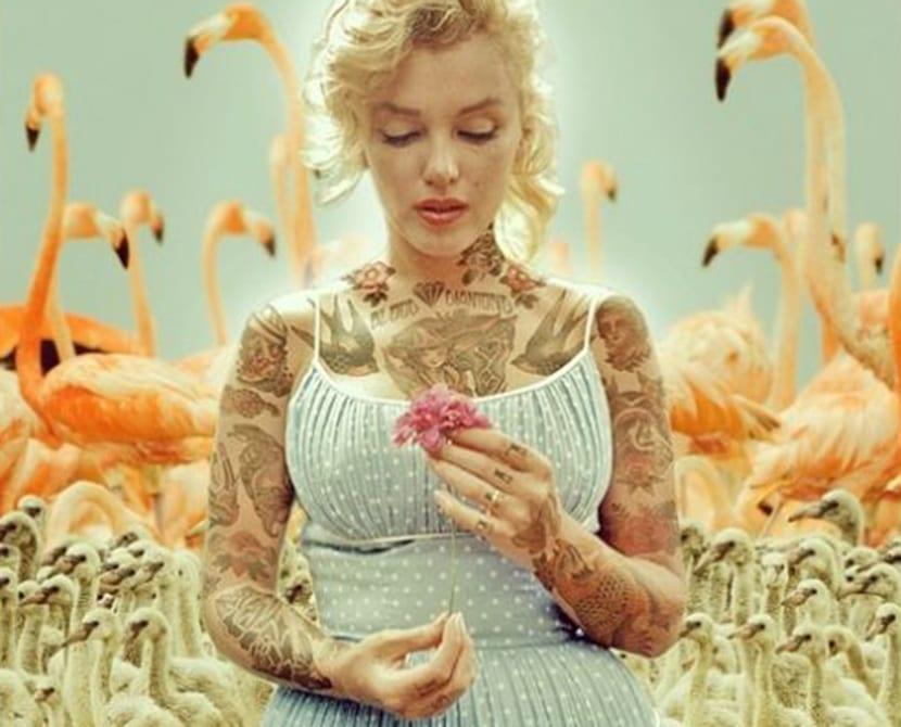 Tatuajes Marilyn Monroe