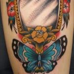 Tatuajes de espejos