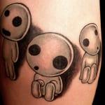 Tatuajes de Kodamas
