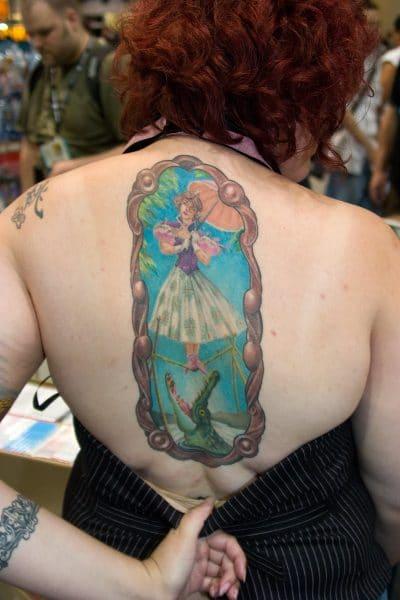 Tatuaje de equilibrista
