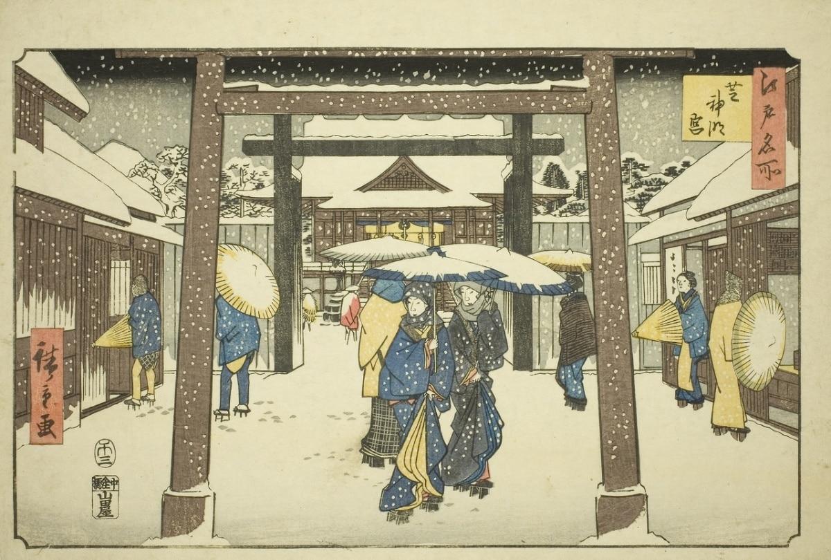 Dibujo antiguo japonés