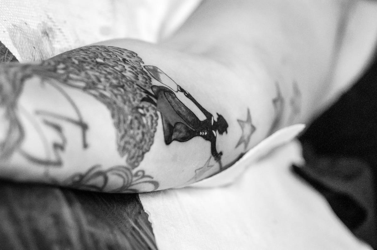 Tatuaje de Mary Poppins