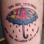 Tatuajes de Paraguas