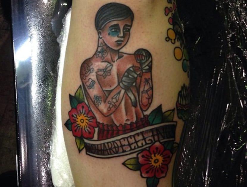 Tatuajes de boxeadores