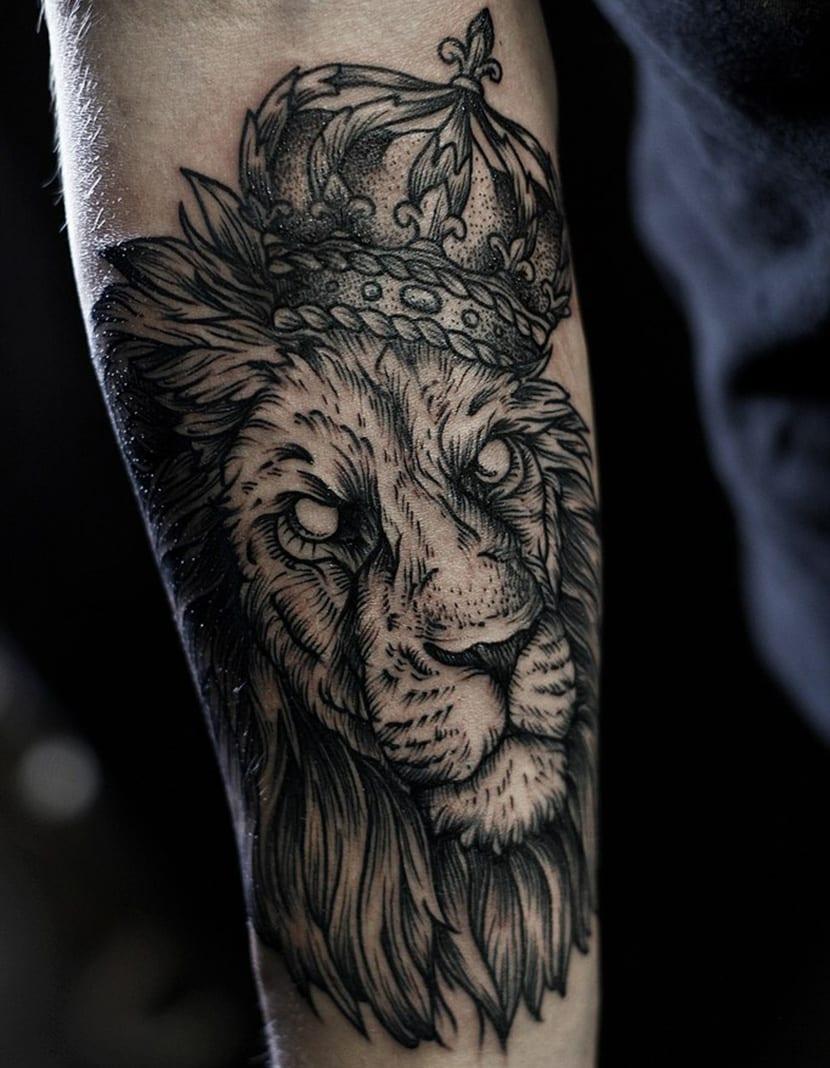 Tatuajes De Leones Simbolo De Fuerza Poder Y Coraje