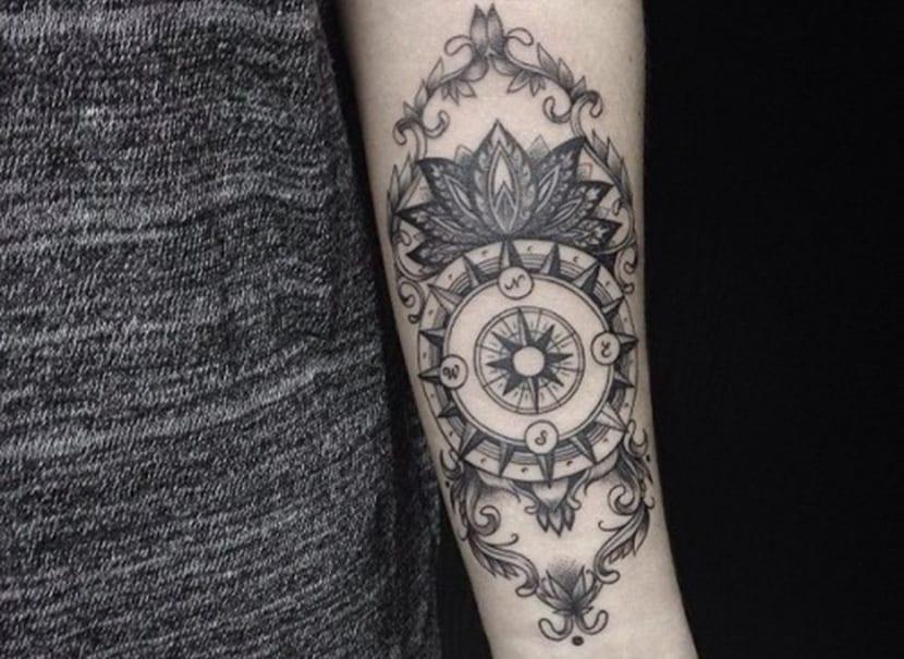 Tatuajes De Brújulas Sabes Lo Que Significan