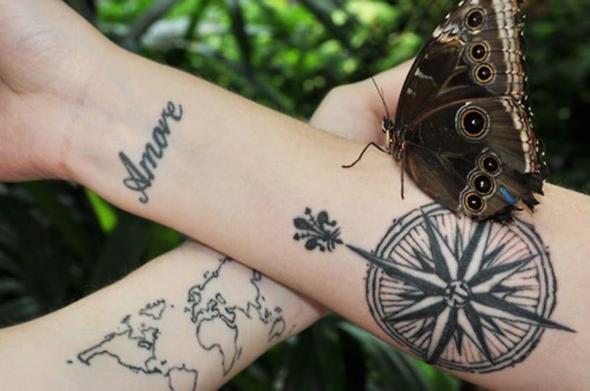 Tatuajes De Brujulas Sabes Lo Que Significan