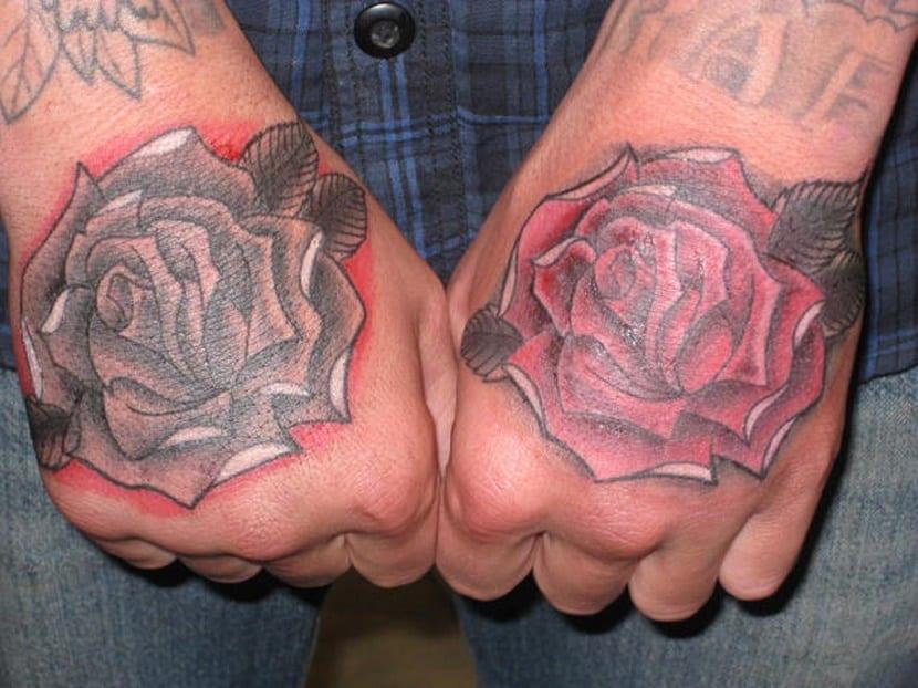 Tatuajes Para Hombres De Rosas