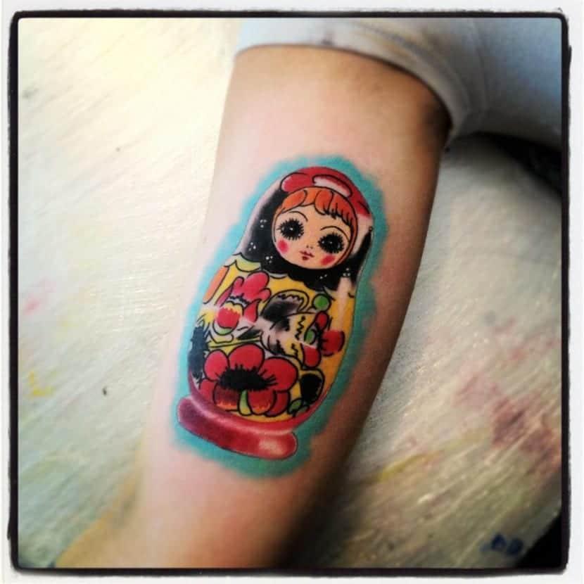 Tatuajes De Las Muñecas Matryoshka Y Su Significado
