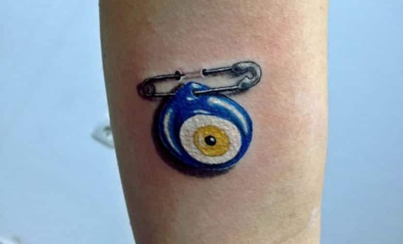 Tatuaje de Ojo Turco
